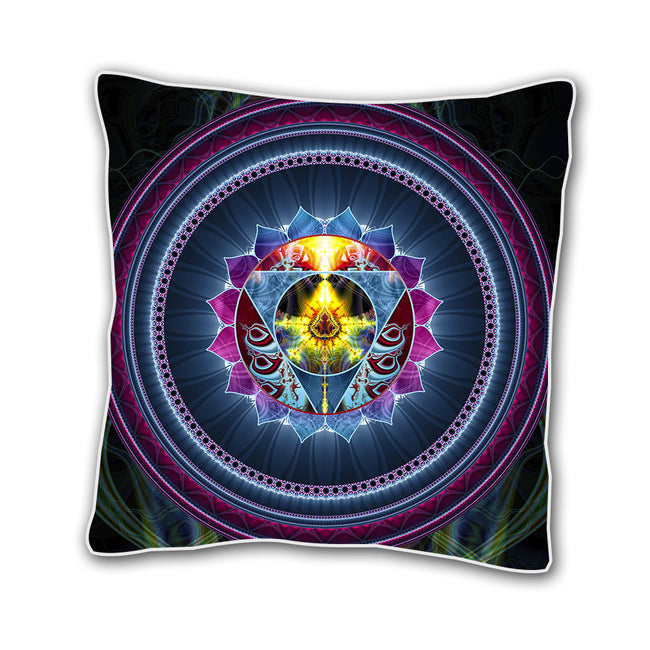 Throat Chakra Cushion Cover