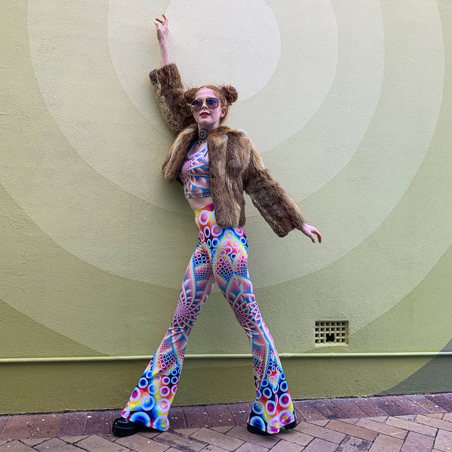 Bell Bottoms | Psychedelic | Women's Festival Outfit | Spirabulle