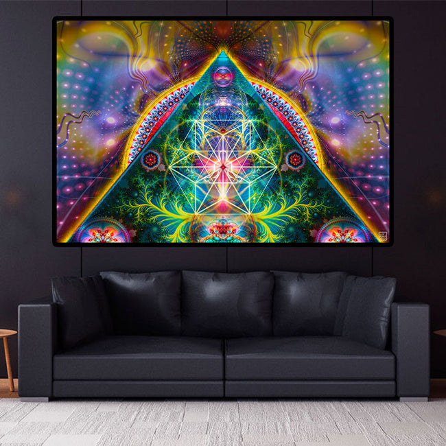 Meditation Tapestry | Spiritual Wall Hanging | Initiation