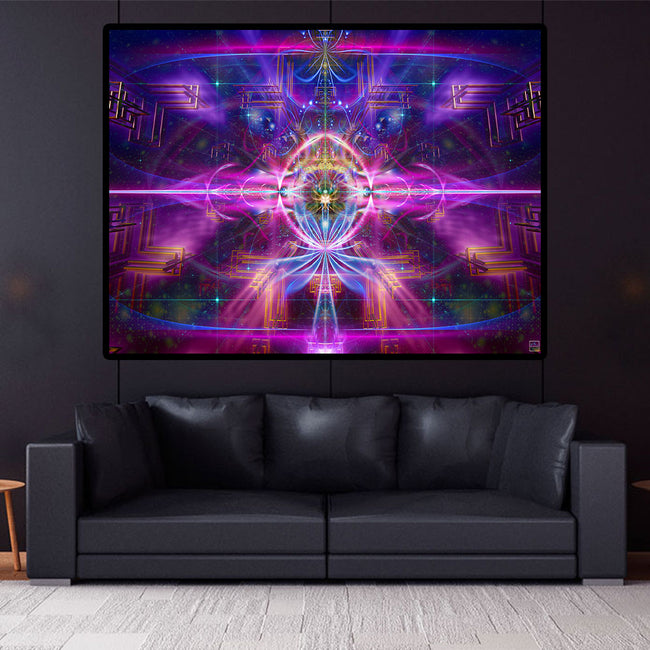 InnerVerse Poster | Art Print | Pineal | Meditation | Spiritual | Third Eye| Visionary | Conscious | Yoga| Art