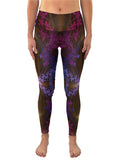 Purple Eco Yoga Leggings | Rave | Festival Pants | Purple Haze