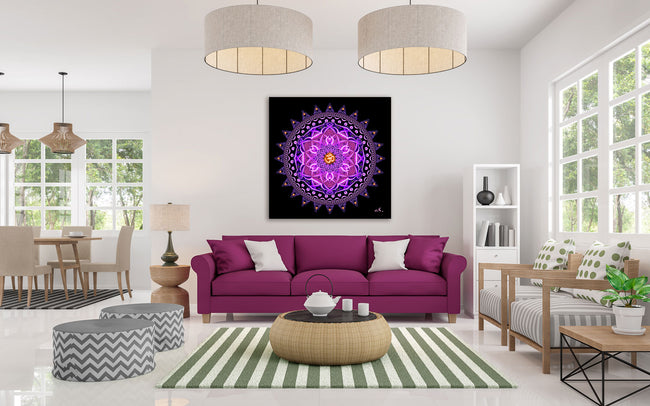 Aum Mandala Art Wall Hanging