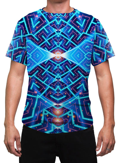Cosmo | Mens T-Shirt | Clothing | Spiritual | Aesthetic | Yoga | Festival | Meditation | Psychedelic | Gift | For Him