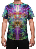 TrippinJaguar | Mens T-Shirt | Clothing | Rave | Aesthetic | Festival | Psychedelic | Animal Totem |Jaguar