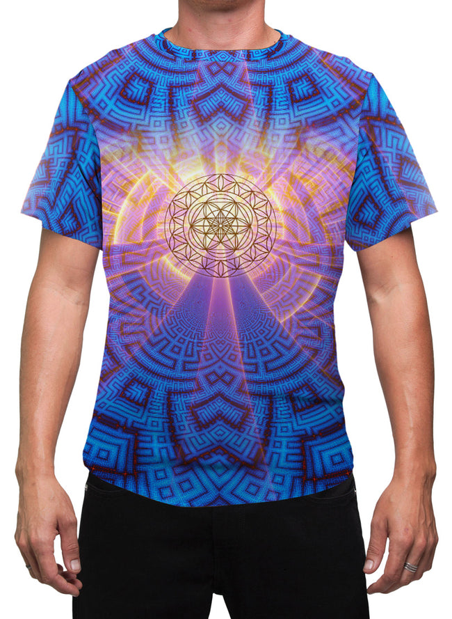 Sacred Geometry Mens T-Shirt | Festival Clothing | Rave |  ZeroPoint