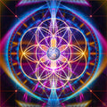 Flower of Life Wall Tapestry | Sacred Geometry Art | New Earth