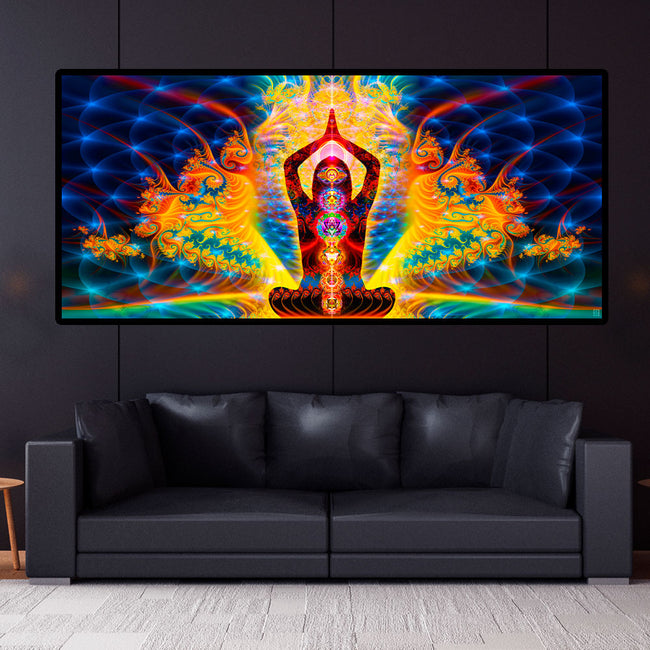 Chakra Wall Tapestry | Meditation Wall Hanging | Noces Cosmiques