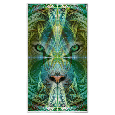 Trippy Camping Towel