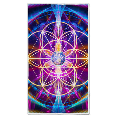 Sacred Geometry Towel