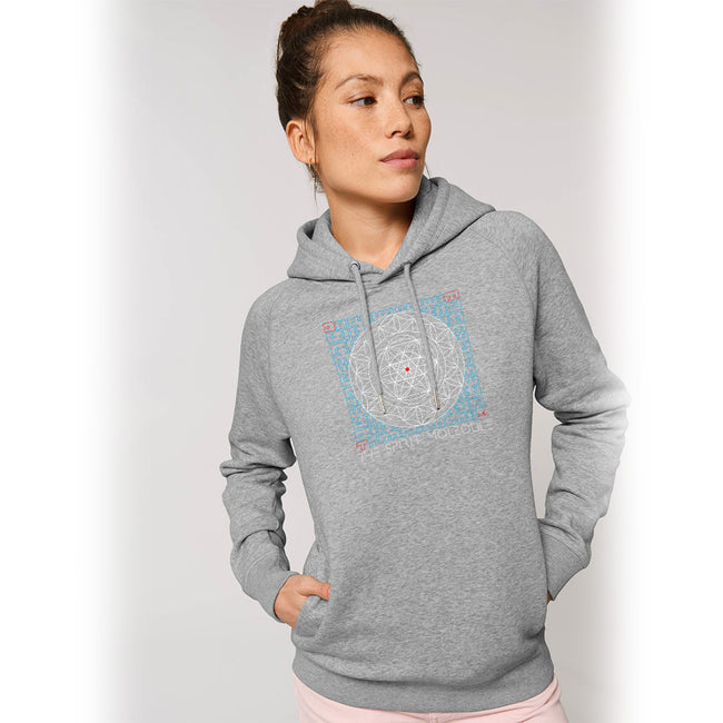 Organic Hoodie | Vegan Sweatshirt | Ethical | Sacred Geometry | The Spirit Molecule