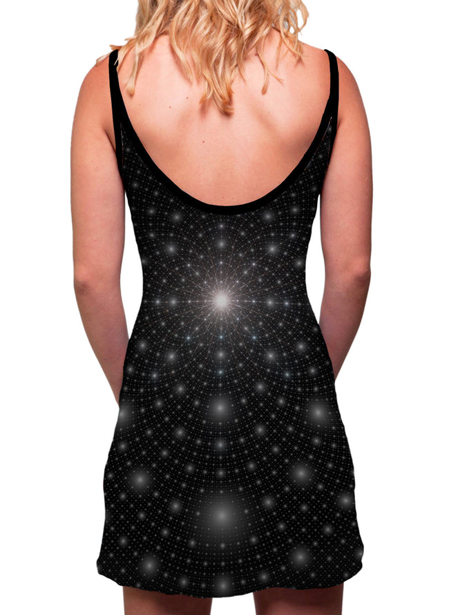 Stardust | Dress | Tank | Mini | Festival | Rave | Outfit | Clothing | Aesthetic | Eco | Hippy | Hippie | Burning Man | Psychedelic