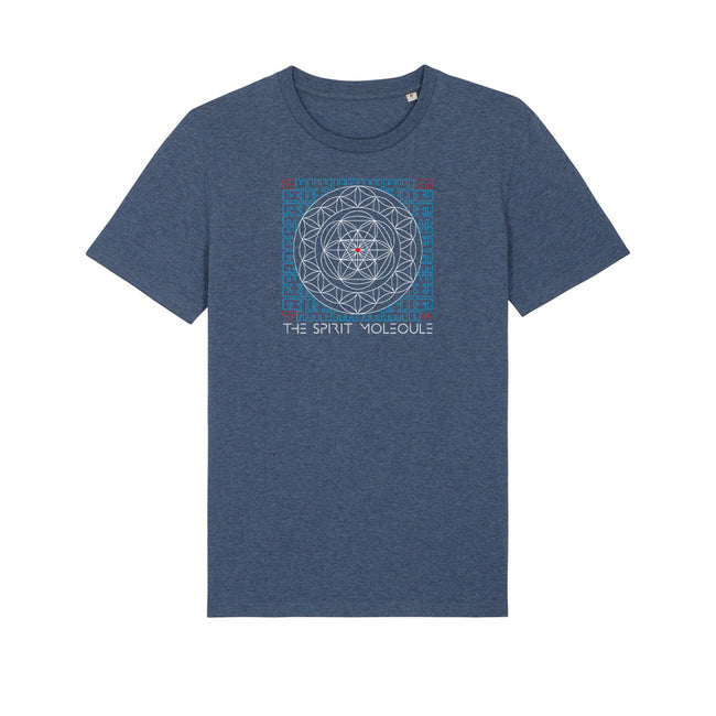 Vegan T-Shirt | Organic | Ethical | Unisex | Sacred Geometry | The Spirit Molecule