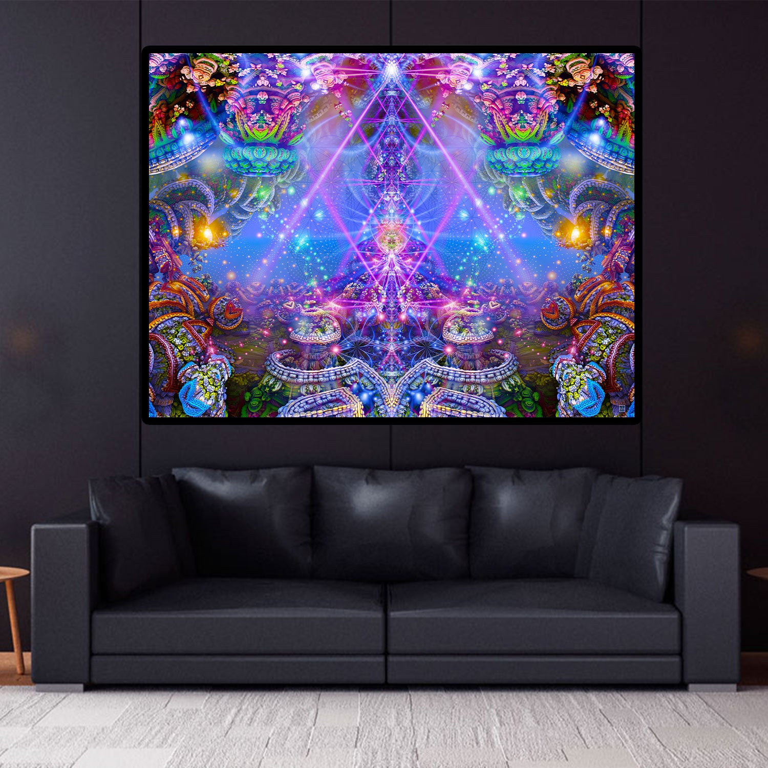 Trippy Tapestry | Psychedelic Wall Hanging | Psy | The Gates of Atlantis