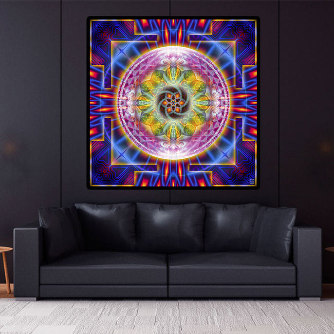 Shamanic Wall Art | Native American Tapestry | Wakhan Nauto
