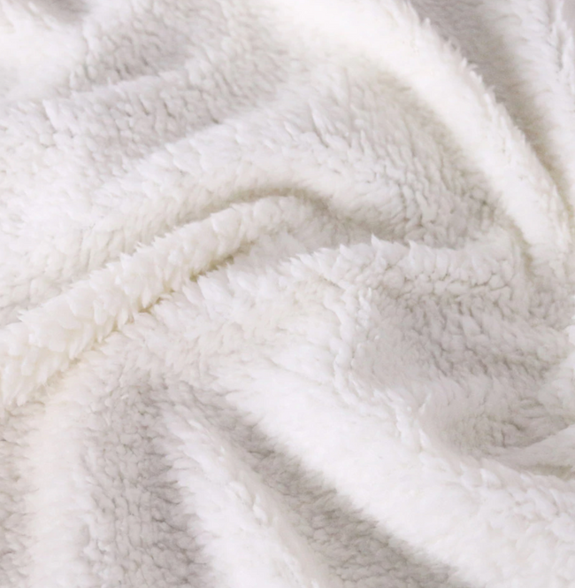 Soft Fleece Sherpa Blanket