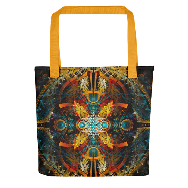 Beach Bag | Tote Bag | Yoga Bag | Reusable Shopping Bag | Star Matrix