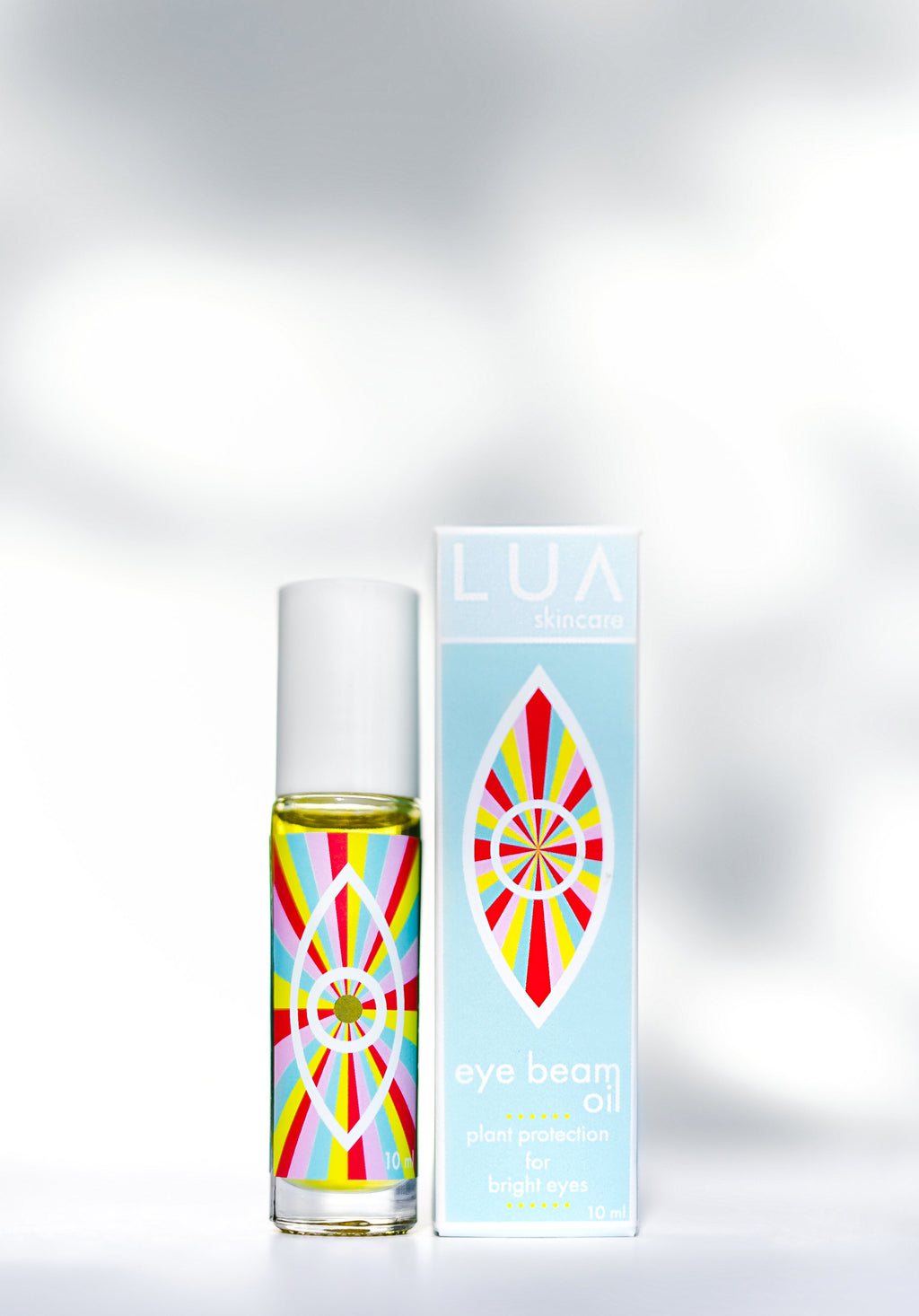 LUA skincare Eye Beam Oil for Bright Eyes Plant based Vegan