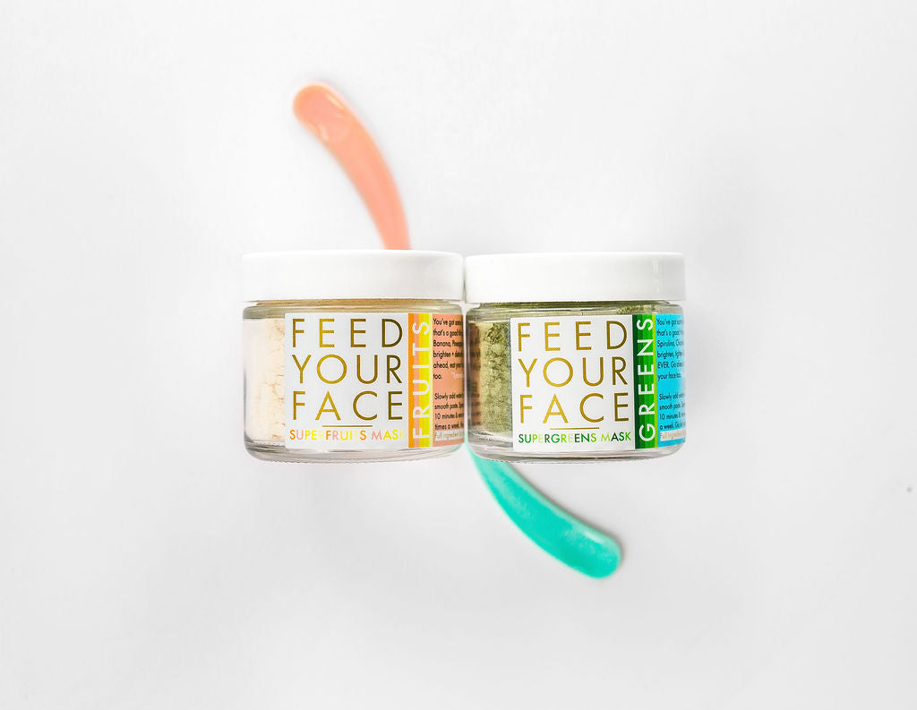 SUPERGREENS  face mask