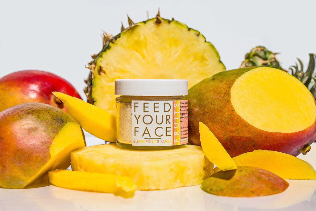 SUPERFRUITS face mask