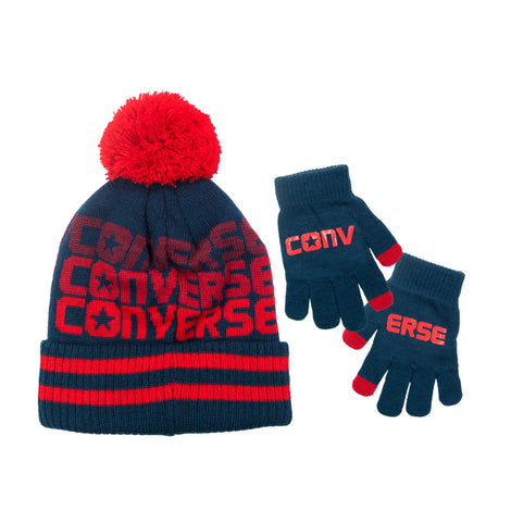 CONVERSE Hat & Gloves Set - rookiehk