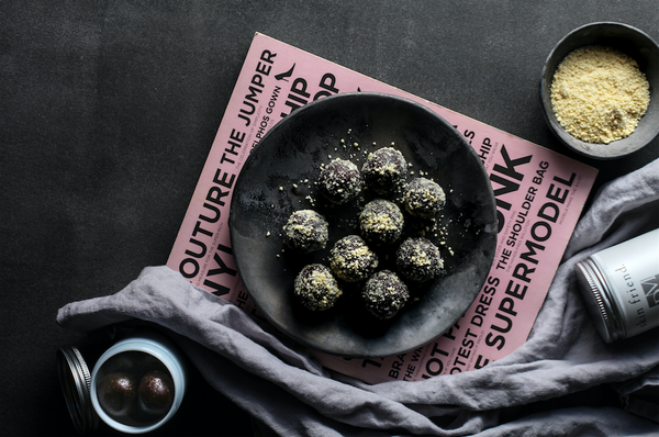 Healthy dairy free protein balls