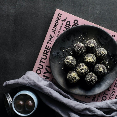 Healthy dairy-free protein balls