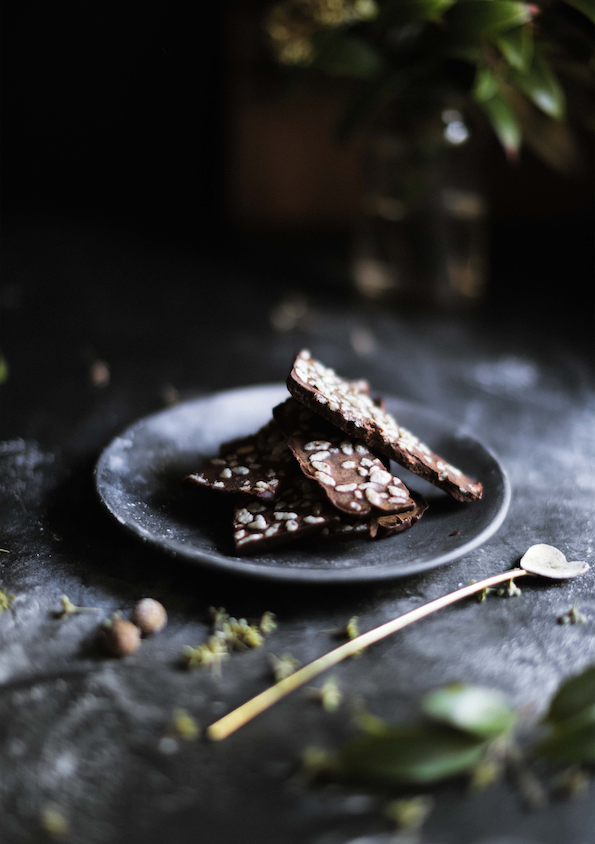Carob dark mylk chocolate recipe