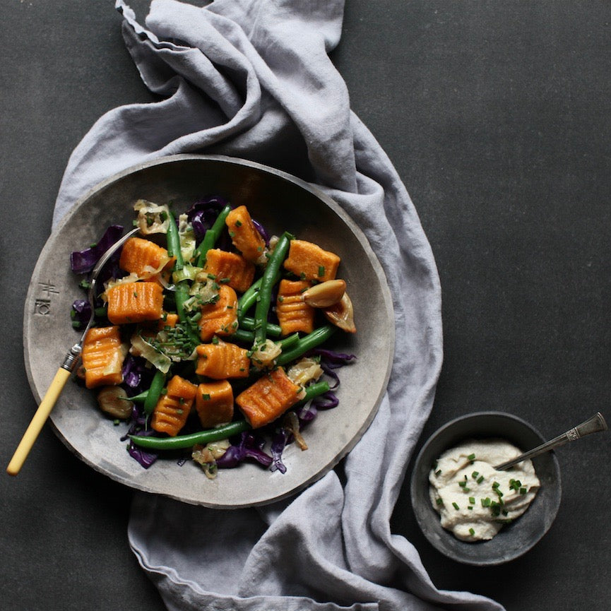 Sweet potato gnocchi recipe by Karen Fischer