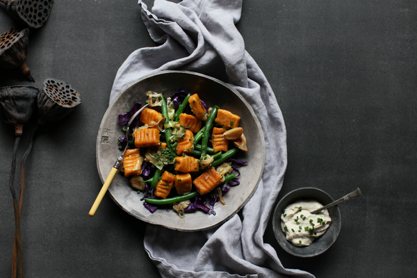 Sweet potato gnocchi healthy recipe
