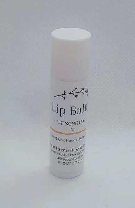 Unscented All Natural Lip Balm