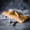 Sassafras Cheese Board with a Huon Pine Cheese Knife - Tasmanian Gourmet Online