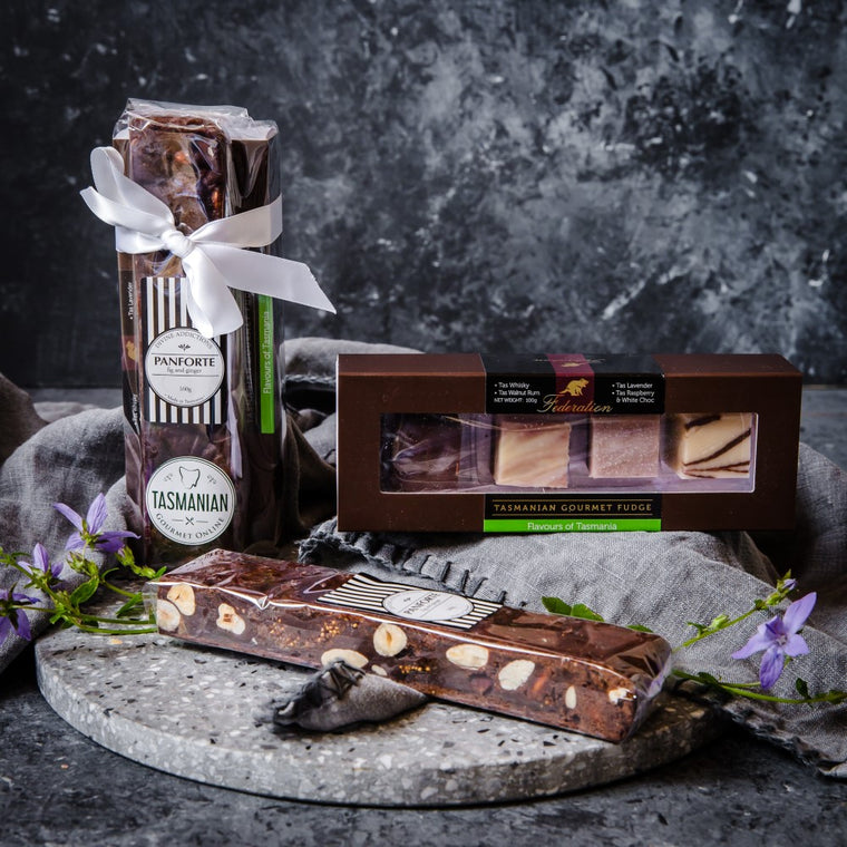 Panforte and Federation Gourmet Fudge - Tasmanian Gourmet Online