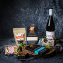 Sweet Vegan Valentines Gift with Vegan Wine