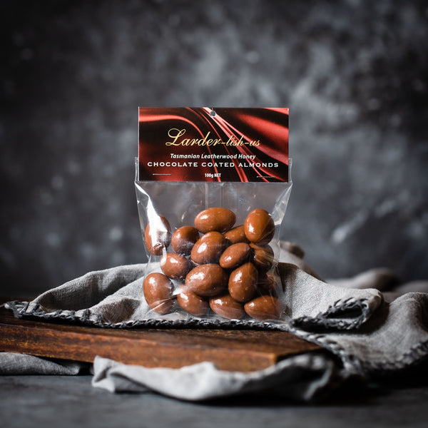 Larder-lish-us Chocolate Coated Almonds