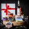 Christmas Vegan Cheese Hamper Gift with a Milton Vineyard Rosé
