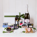 Christmas Vegan Cheese Gift and Milton Vineyard Sparkling
