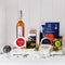 Christmas Picnic Hamper with Premium Ocean Trout, Milton Pinot Rose, Cheese and  Condiments