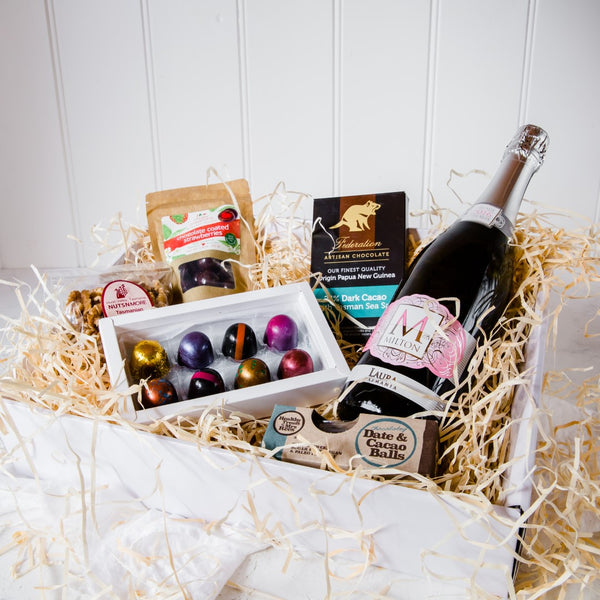 Easter Gluten Free Chocolates and Milton Sparkling Rosé