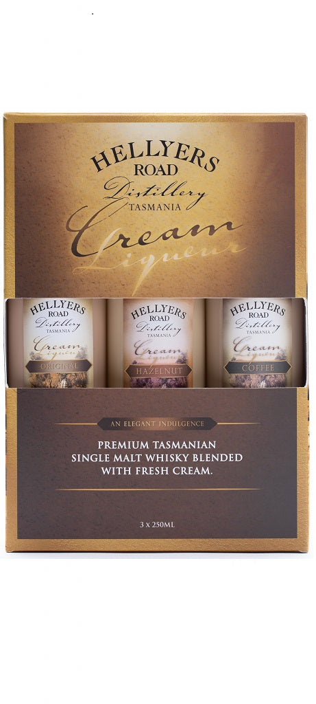 Hellyers 3 x 250ml Cream Gift Packs