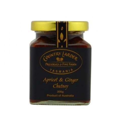 Country Larder Preserves Apricot and Ginger Chutney - Tasmanian Gourmet Online