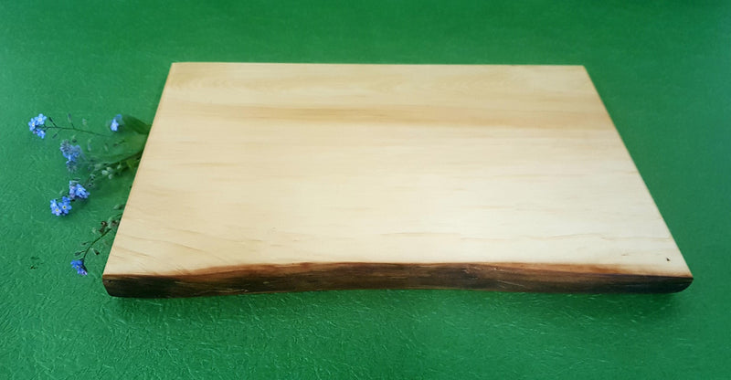 Huon Pine Cheese Cutting Board with Natural Edge