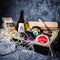 Tasmanian Cheese Gourmet Gift Hamper with Sassafras cheese board and wine - Tasmanian Gourmet Online