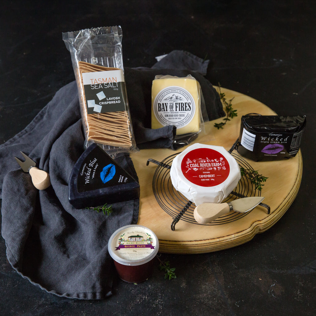 Cheese Selection Gourmet Hamper - Tasmanian Gourmet Online