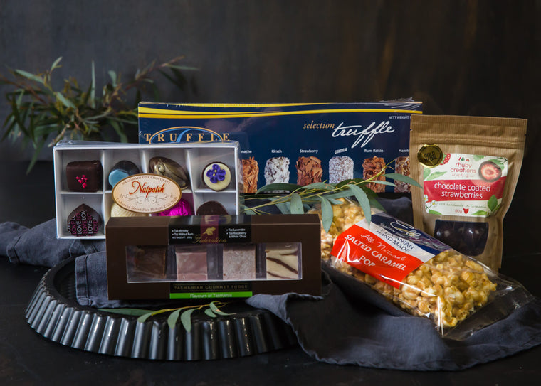Easter Chocolate Enjoyment Gift Hamper - Tasmanian Gourmet Online