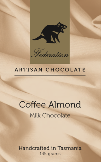 Federation Chocolate Coffee Almond - Tasmanian Gourmet Online