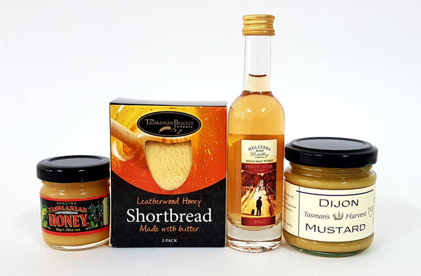 Tasmanian Whisky with Condiments