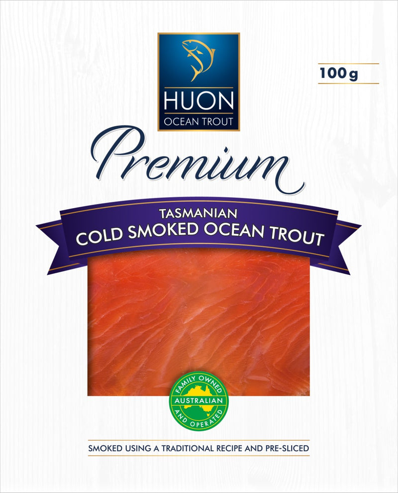 Huon Aquaculture Premium Cold Smoked Ocean Trout