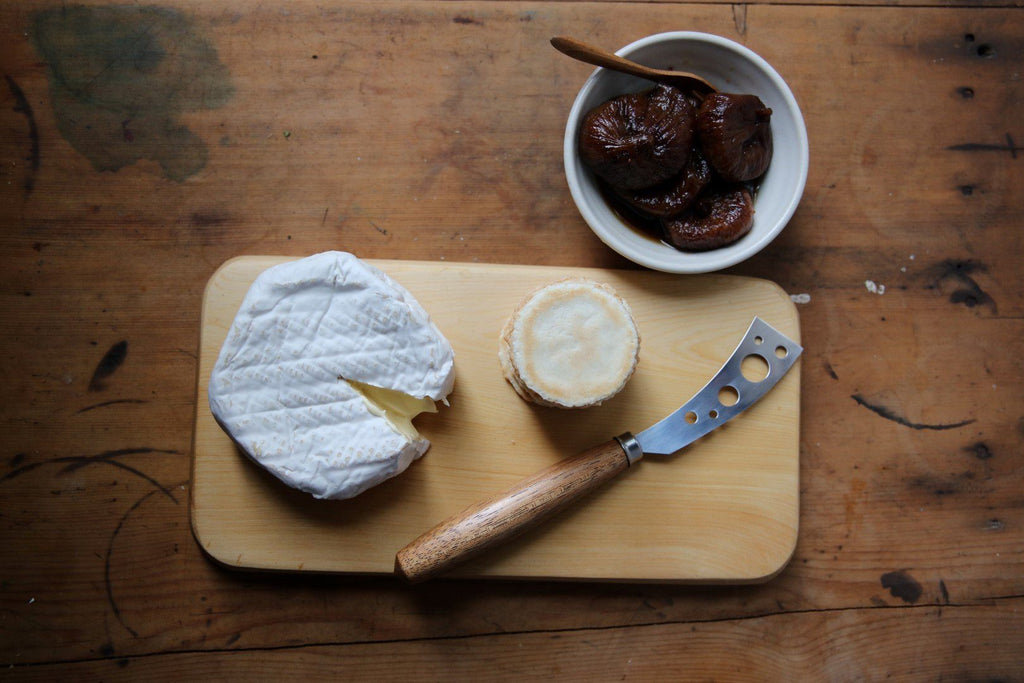 Huon Pine Cheese Board, Cheese and Spiced Figs - Tasmanian Gourmet Online