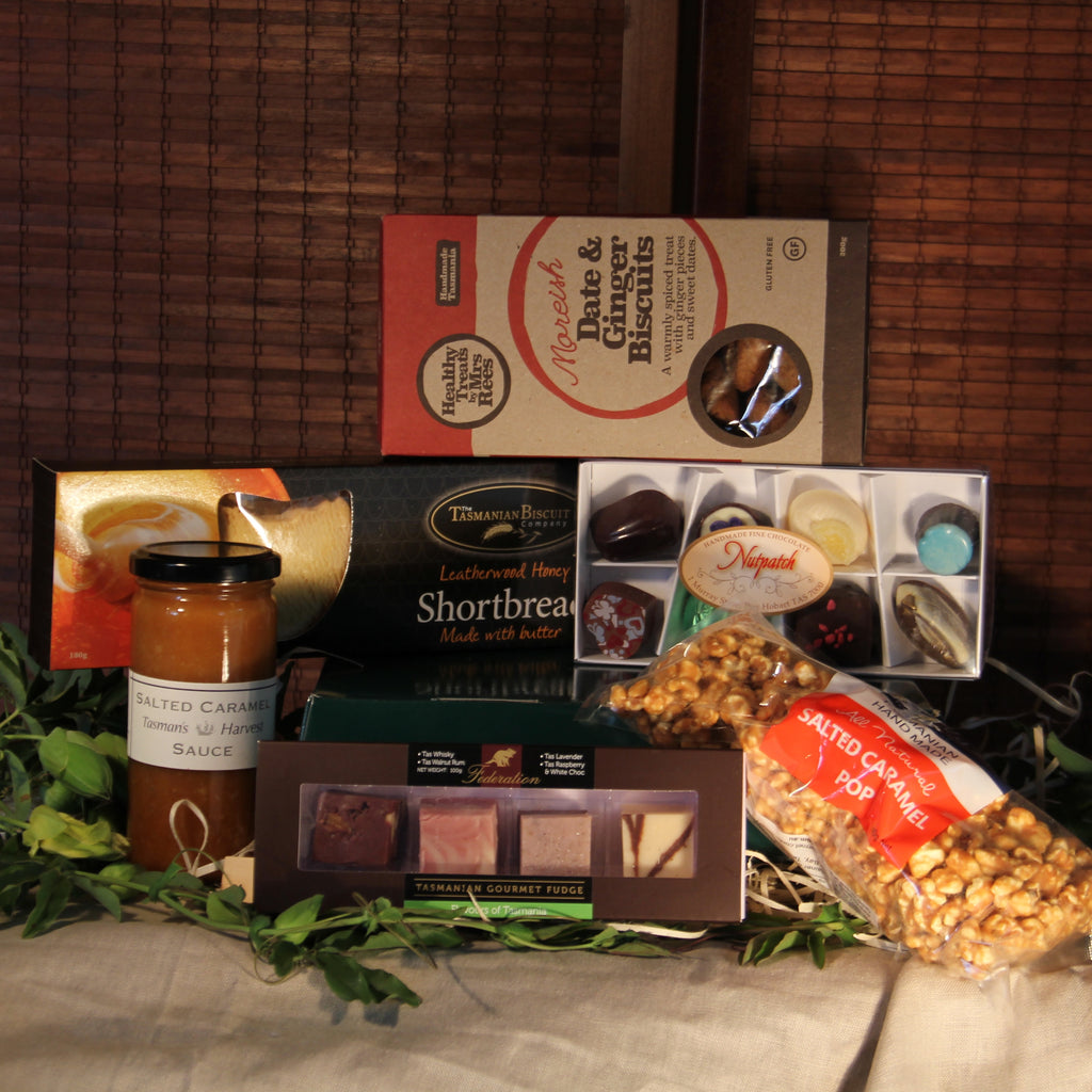 Tasmanian Sweet Treats Mother's Day Hamper - Tasmanian Gourmet Online