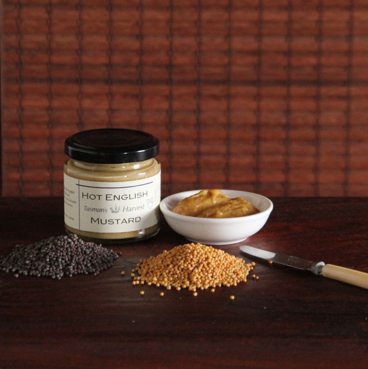 Tasman's Harvest Hot English Mustard - Tasmanian Gourmet Online